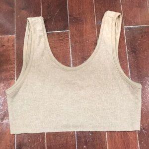 Alo yoga soft crop top